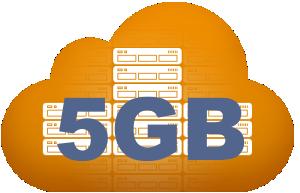 correo negocios con 5 GB de espacio